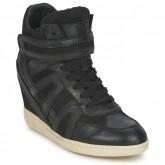 Paris Chaussures ASH Beck Bis Noir Basket Montante Femme Promo En Ligne
