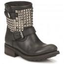 Prix Chaussures ASH Titan Noir Boots Femme Promotions En Ligne