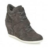 Promotions Chaussures ASH Bowie Gris Basket Montante Femme France Métropolitaine