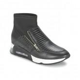 Promotions Chaussures ASH Liu Noir Basket Montante Femme Lyon en Ligne