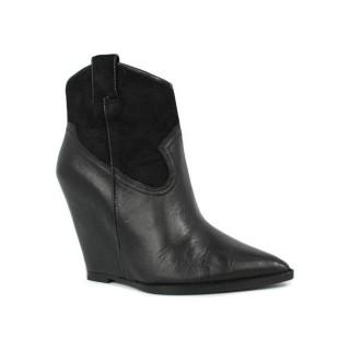 Solde Chaussures ASH Jude - Campero Coin Noir Bottines Femme France Livraison Gratuite