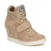 Soldes Chaussures ASH Cool Marron Basket Montante Femme Promo Prix Paris