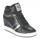 Soldes Chaussures ASH Prince Noir Basket Montante Femme Remise prix