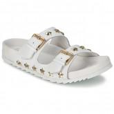 Soldes Chaussures ASH United Blanc Mules Femme Promo Prix Paris