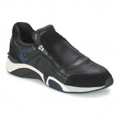 Vente Privee Chaussures ASH Hop Noir / Bleu Basket Basses Femme Pas Cher Marseille
