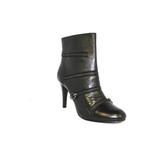 achat vente chaussures ash botine boucle noir bottines femme pas cher. Black Bedroom Furniture Sets. Home Design Ideas