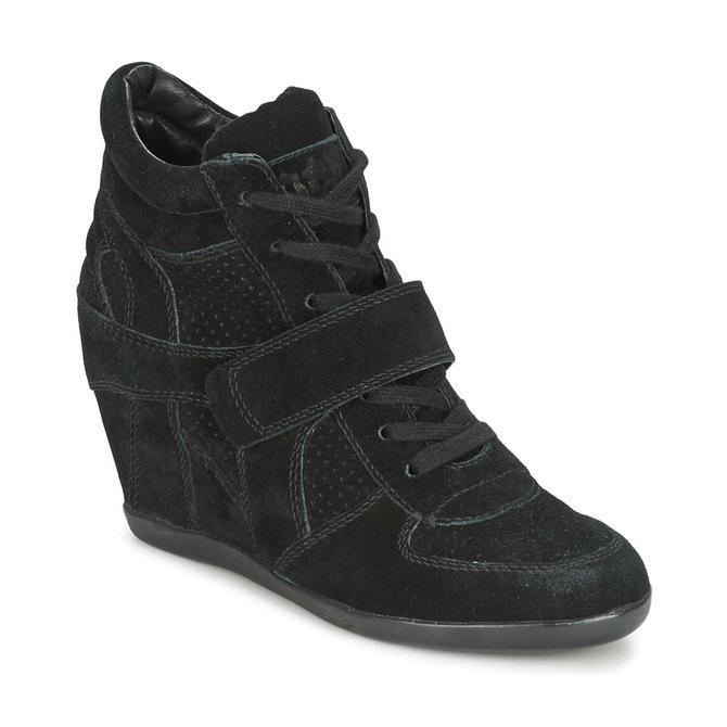 3d42205203b045 Acheter Chaussures ASH Bowie Noir Basket Montante Femme En Ligne au  Meilleur Prix