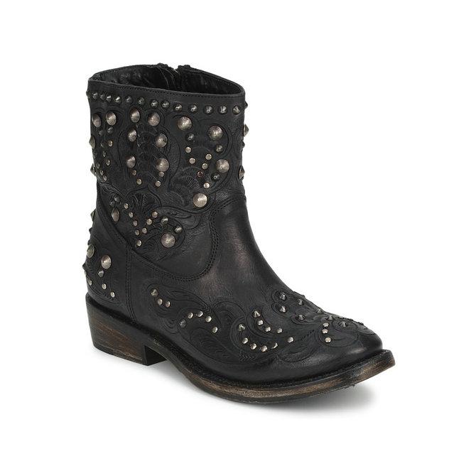 Boutique Officielle Chaussures ASH Volcano Noir Boots Femme
