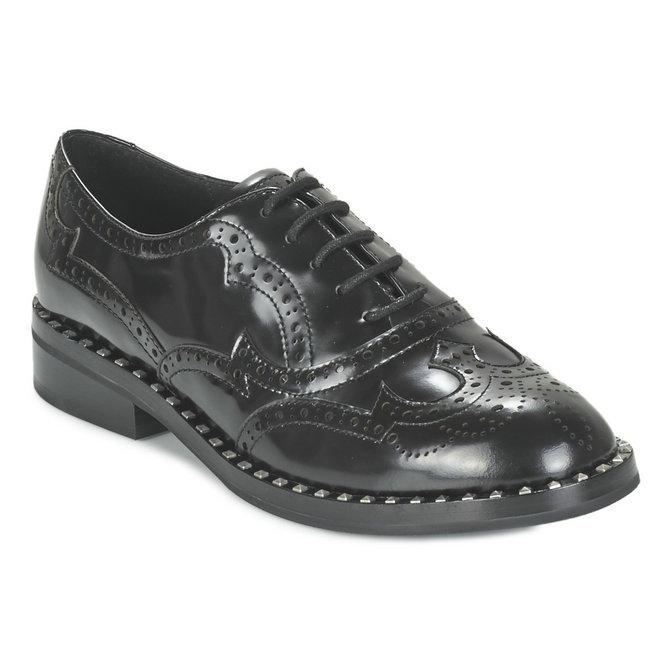 Richelieu Ash Noir Femme Chaussures Officielle Wing Pas Boutique qXvOg