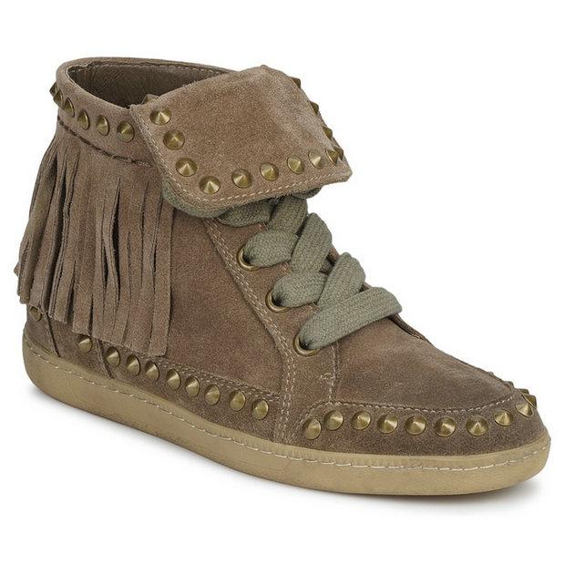 Chaussures Marron Basket Femme Nouvelle Ash Zapping Montante Paris OP8nk0w