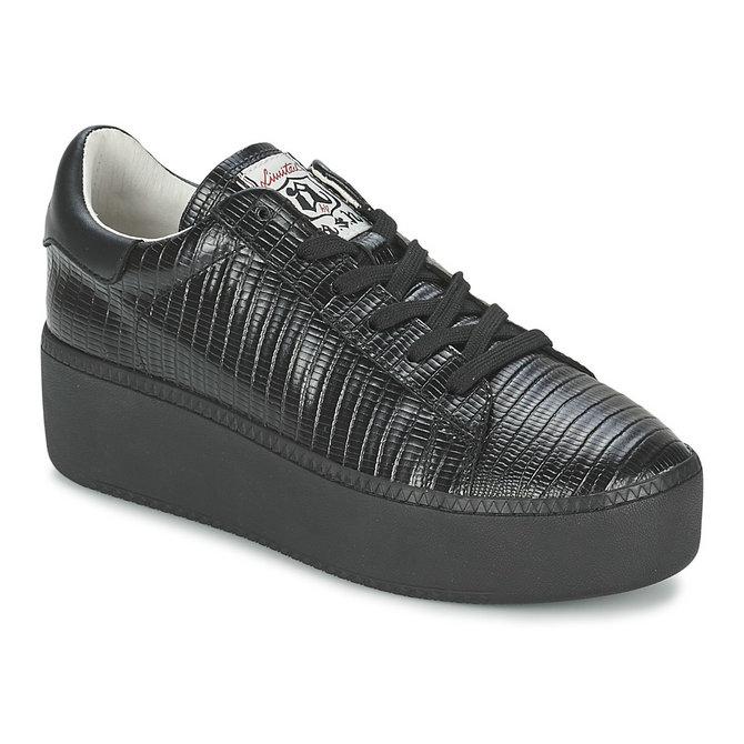 cb327aba7b4444 Soldes Chaussures ASH Cult Noir Basket Basses Femme Remise prix