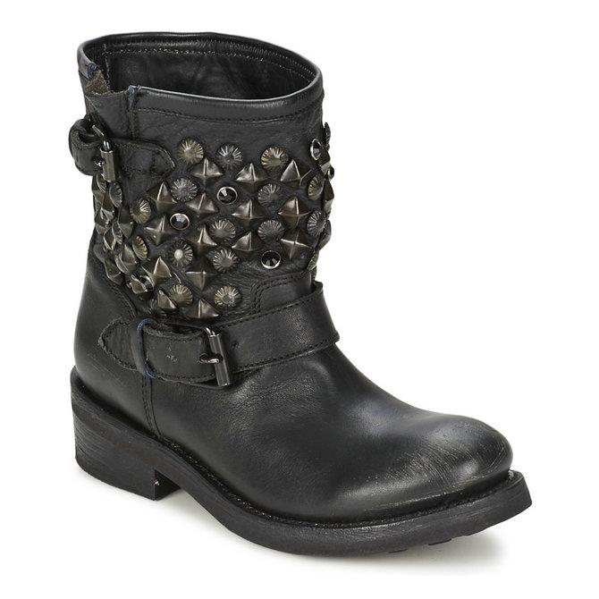 vente privee chaussures ash titanic noir boots femme pas cher marseille. Black Bedroom Furniture Sets. Home Design Ideas