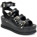 2017 Chaussures ASH Vantage Noir Sandale Femme Vendre France
