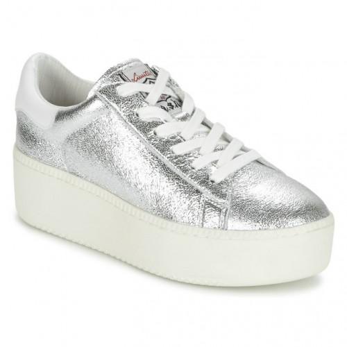 daf7d550f74093 Achat Chaussures ASH Cult Argent Basket Basses Femme En Ligne