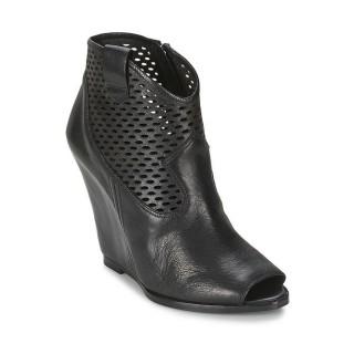 Achat Chaussures ASH Lucy Noir Bottines Femme à Bas Prix