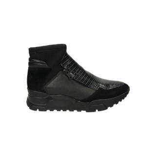 Achat Chaussures ASH Magic Softy/Tejus Do Noir Basket Montante Femme En Ligne