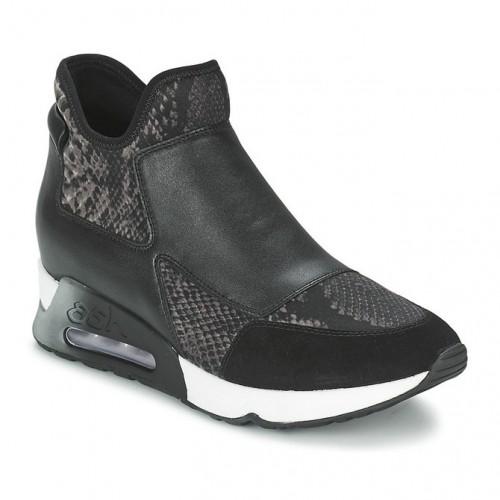Basket Noir Femme Ash Achat Cher Vente Lazer Chaussures Montante Pas 1TJcl3FK