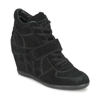 Acheter Chaussures ASH Bowie Noir Basket Montante Femme En Ligne au Meilleur Prix