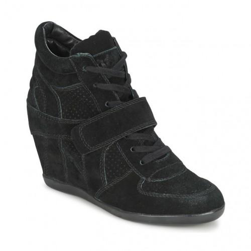 c1ee054babdf70 Acheter Chaussures ASH Bowie Noir Basket Montante Femme En Ligne au  Meilleur Prix