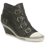 Acheter Chaussures ASH Genial Noir Basket Montante Femme à Prix Réduit