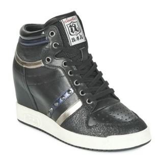 Boutique Chaussures ASH Prince Noir Basket Montante Femme Réduction En Ligne