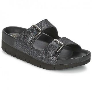 Boutique Chaussures ASH Takoon Noir Mules Femme Rabais Paris