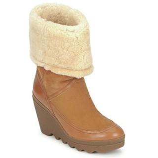 Boutique Chaussures ASH Varushka Camel Bottines Femme Réduction En Ligne