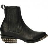 Boutique Officielle Chaussures ASH Tenessee-001 Noir Bottines Femme Réduction En Ligne