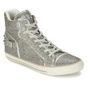 Boutique Officielle Chaussures ASH Vertigo Gris Basket Montante Femme Réduction En Ligne