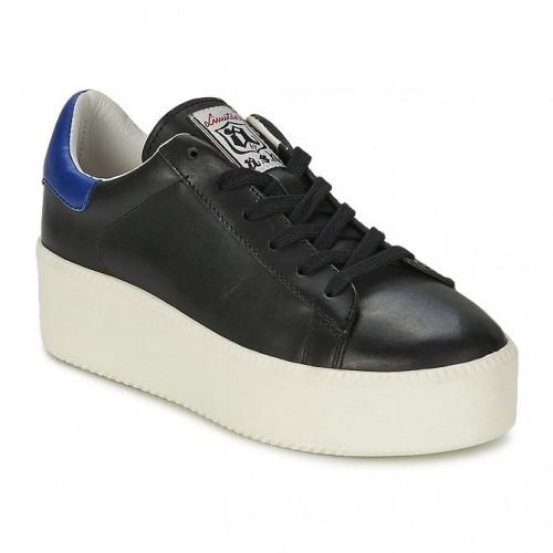 11b55f30cac079 Boutique de Chaussures ASH Cult Noir Basket Basses Femme Pas Cher Prix