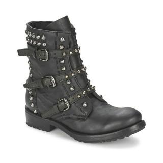 Catalogue Chaussures ASH Reese Noir Boots Femme Pas Cher France