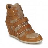 Chaussures ASH Bixi Camel Basket Montante Femme Boutique En Ligne