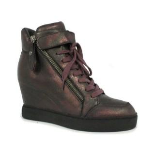 Chaussures ASH Body - Sportif Coin Fermeture Éclair Metalizada Basket Montante Femme Personnalisé en Ligne