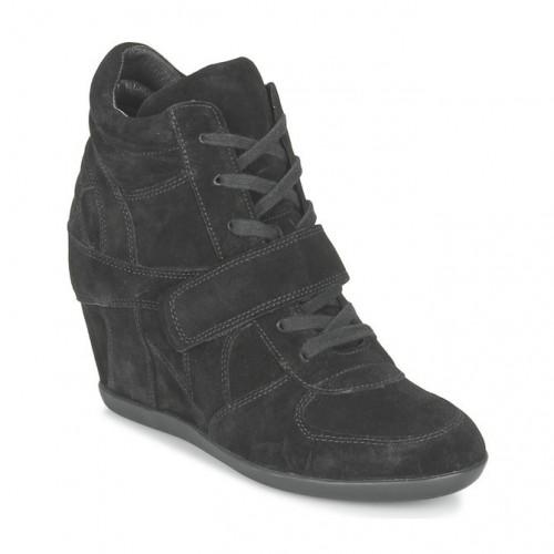 Montante Bowie Basket Femme Promo Chaussures Noir Code France Ash 1zawqPv
