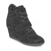 Chaussures ASH Bowie Noir Basket Montante Femme Magasin Lyon