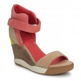 Chaussures ASH Eloise Marron / Corail Sandale Femme Magasin De Sortie