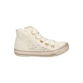 Chaussures ASH Flower Lace Blanc Richelieu Femme Prix Moins Cher
