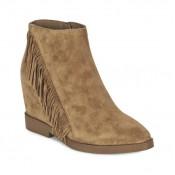 Chaussures ASH Gossip Camel Bottines Femme Remise Paris en ligne
