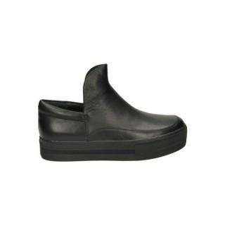 Chaussures ASH Jack Bis Nappa Noir Derbies Femme Pas Cher en Promo