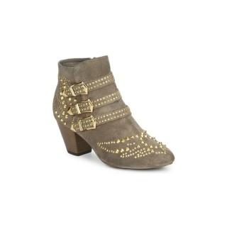 Chaussures ASH Joyce Beige Bottines Femme La Boutique en Ligne