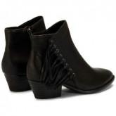 Chaussures ASH Lenny Tody - Bottines Femme Noir Bottines Pas Cher Prix Discount