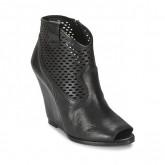 Chaussures ASH Lucy Noir Bottines Femme Vente En Ligne