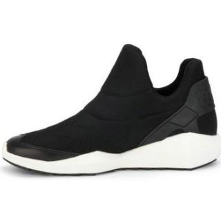 Chaussures ASH Quid Noir Nappa Wax - Basket Femme Noir Basket Basses Remise Lyon