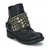 Chaussures ASH River Noir Boots Femme Soldes Promo En Ligne