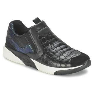 Chaussures ASH Set Noir Basket Basses Femme Rabais Boutique Paris