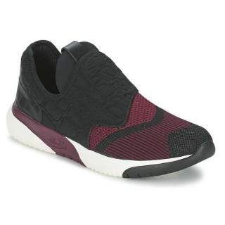 Chaussures ASH Soda Noir / Bordeaux Basket Basses Femme Magasin Lyon