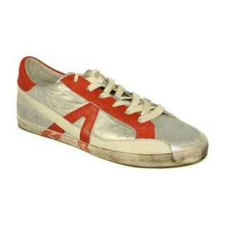 Chaussures ASH Soda - Sportif Corde Argent/Orange Basket Basses Homme Faire Une Remise
