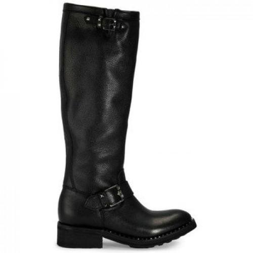 75802ea64020b4 Chaussures ASH Sugar Noir - Bottes Femme Noir Botte Ville Code Promo France