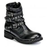 Chaussures ASH Tatoo Noir Boots Femme Magasin Paris