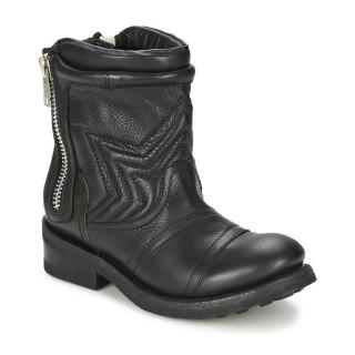 Chaussures ASH Texas Noir Boots Femme Magasin France